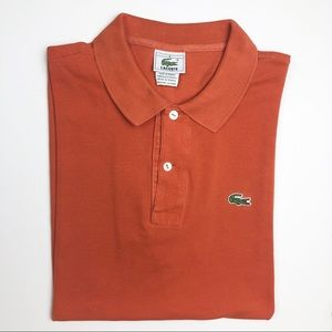 Lacoste Original Fit Polo Made in France Size XL